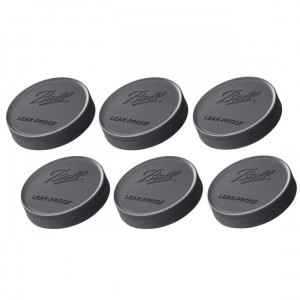 6 x Ball Regular Mouth Leakproof Storage Lids