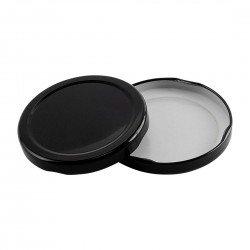 70mm TWIST TOP lids BLACK