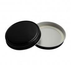Lid One Piece 70mm Storage Regular Mouth BPA FREE BLACK