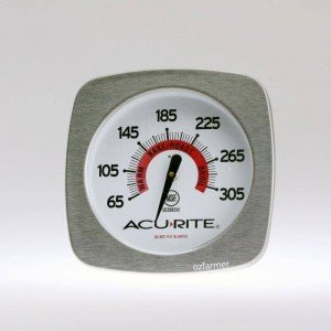 Acu-rite Gourmet Oven Thermometer Stainless Steel