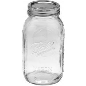 6 x Quart 32 oz Regular Mouth Jars and Lids Ball Mason OUT OF STOCK NO ETA