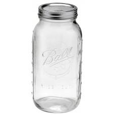 1 x Half Gallon 64oz Wide Mouth Jar Ball Mason - Single