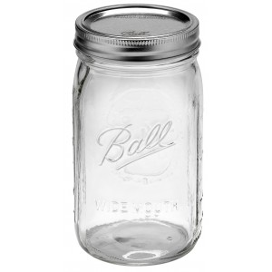 1 x Quart 32oz Wide Mouth Jar and Lid Ball Mason - Single OUT OF STOCK NO ETA