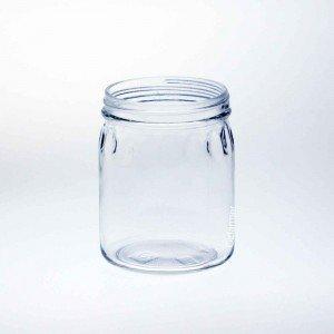 12 x Bell Mason 24 oz Thumbprint Jars - Lids Not Included