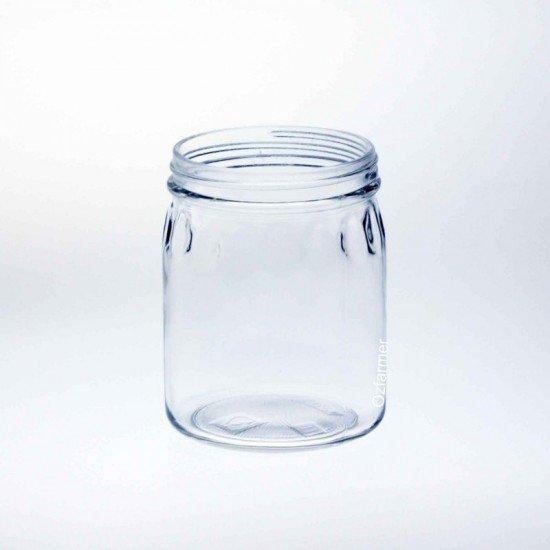 12 x Bell Mason 24 oz Thumbprint Jars - Lids Not Included (A24-01C)