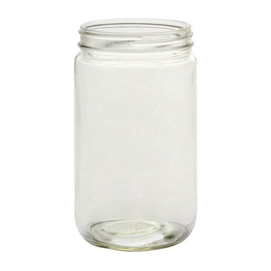 12 x Bell Mason 32 oz Quart Smooth Extra Wide Mouth Jars
