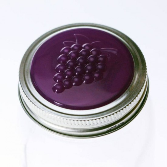 4 x Grape Jam Lids