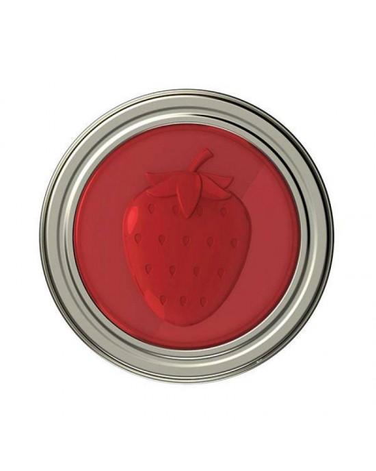 4 x Strawberry Fruits Jam Lids (82633)