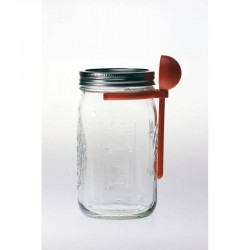 Coffee Spoon Clip Lid Attachment Suits Wide Mouth Ball Mason Jars
