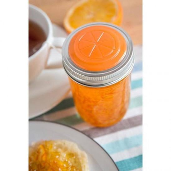 Orange Fruits Jam Marmalade Lids