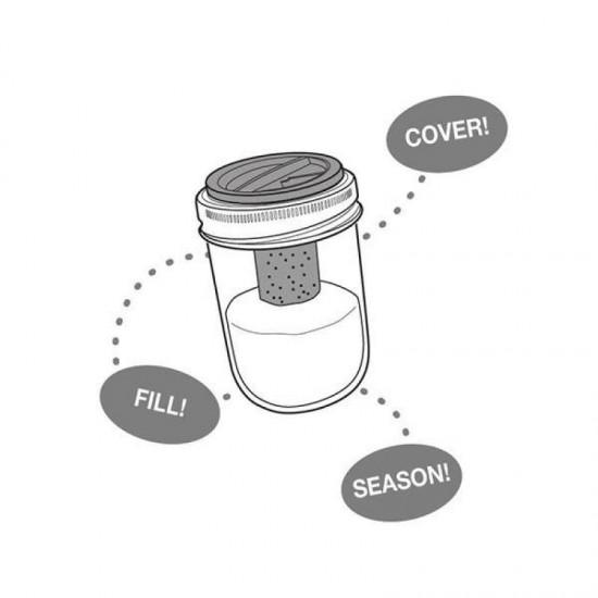 Salt and Pepper Combo Attachment