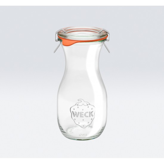 1 x 290ml Weck Juice Carafe Wine Jar Complete