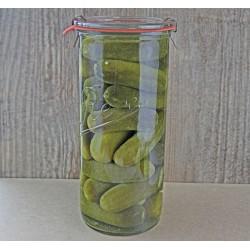 6 x 1,550ml Rex Tapered Jar