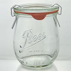 6 x 220ml Rex Mini Tulip Jar