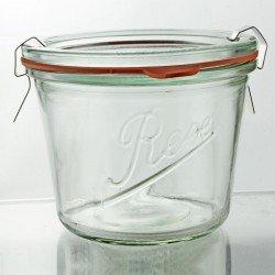 6 x 370ml Rex Tapered Jar