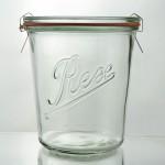 6 x 580ml Rex Tapered Jar