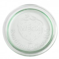 Glass Lid to Suit Weck & Rex Preserving Jars Large, Medium or Small