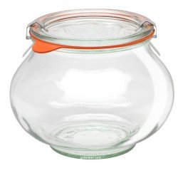 1 x 1 Litre Deco Jar Weck Complete - Single