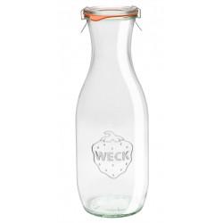 1 x 1 litre Weck Juice Carafe Wine Jar
