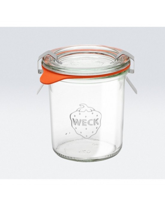 1 x 140ml Weck Mini Mold Tapered Jar (761)