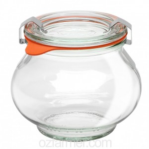 1 x 220ml Weck Deco Jar