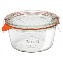1 x 290ml Weck Tapered Jar Short Complete
