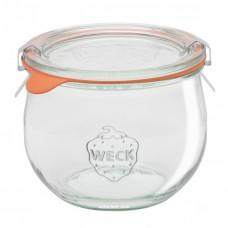1 x 580ml Weck Tulip Canning Jar Complete