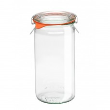 1 x Cylinder Jar WECK 340ml Canning, Preserving Complete (975)