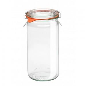 1 x Cylinder Jar WECK 340ml Canning, Preserving Complete