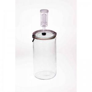 Fermenting Jar With Fermenting Lid BPA Free 1.5 Litre Weck  Rex Cylinder