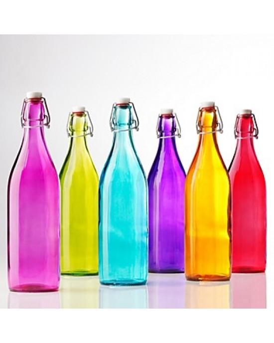 1 x 1 litre bottle Swing Top Archelitro - Assorted Colours (BS5783)