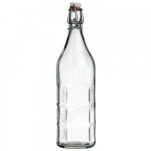 1 x 1 litre Moresca Swing Top Bottle Bormioli Rocco