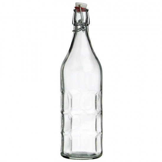 1 x 1 litre Moresca Swing Top Bottle Bormioli Rocco