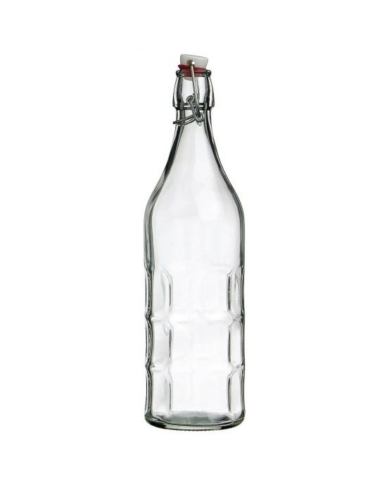 1 x 1 litre Moresca Swing Top Bottle Bormioli Rocco (330-100)