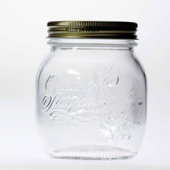 1 x 700ml Bormioli Rocco Quattro Stagioni Preserving Jar (340-017)