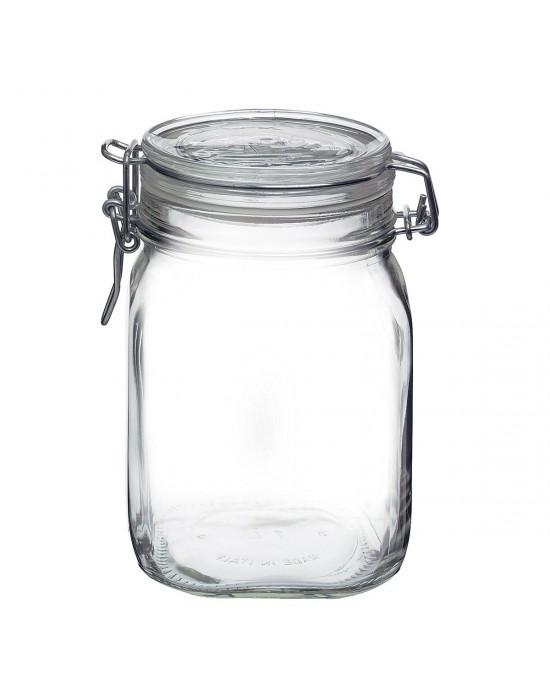 1 x 1 litre Fido Swing Top Preserving  Jar Bormioli Rocco (340-002)