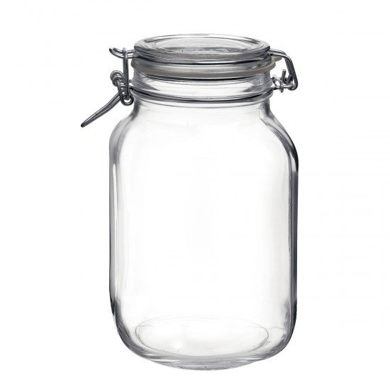 1 x 2 litre Fido Swing Top Preserving Bottle Jar Bormioli Rocco