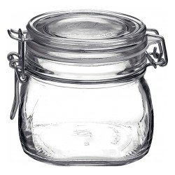 1 x 500ml Fido Swing Top Preserving Bottle Jar Bormioli Rocco