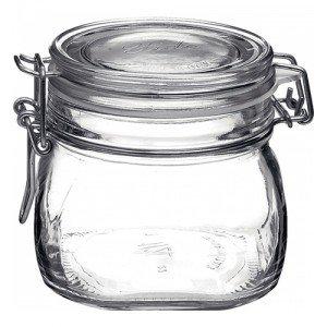 1 x 500ml Fido Swing Top Preserving Bottle Jar Bormioli Rocco