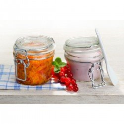 1 x 200ml Bormioli Rocco Fido Swing Top Preserving Jar