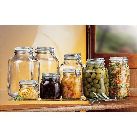 1 x 4 litre Fido Swing Top Preserving Bottle Jar Bormioli Rocco