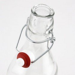1 x Bormioli Rocco Fido Swing Top 250ml Bottle