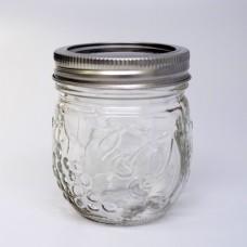 4 x Ball Collection Elite Round Jam Jars - Regular Mouth Half Pint / 8oz
