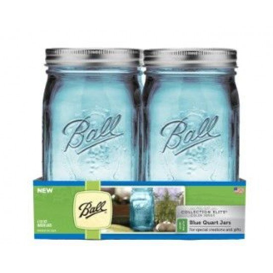 Ball blue quart jars