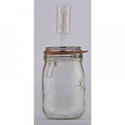 1 Litre Le Parfait Fermenting Jar With Fermenting Lid