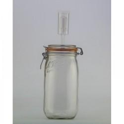 1.5 litre Le Parfait Fermenting Jar With Fermenting Airlock Lid