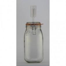 2 litre Le Parfait Fermenting Jar With Fermenting Lid