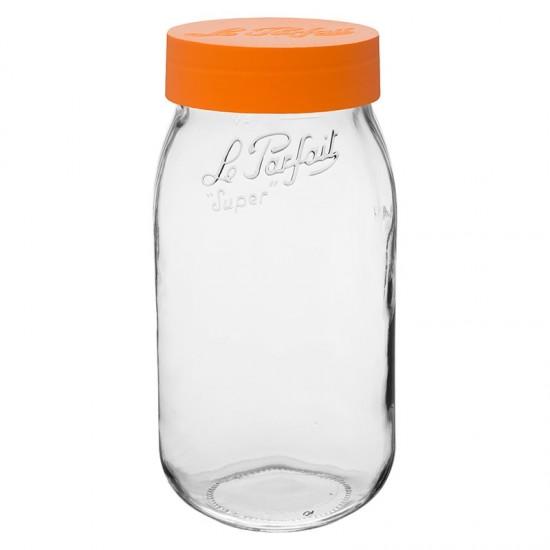 2000ml Le Parfait Storage Jar with Screwtop Lid (LPOJ2000)