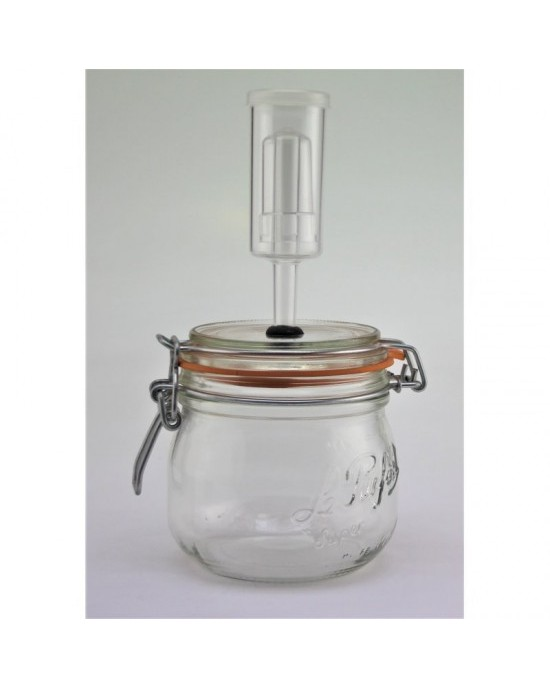 500ml Le Parfait Fermenting Jar With Fermenting Lid BPA Free (500ml Super Fermenting)