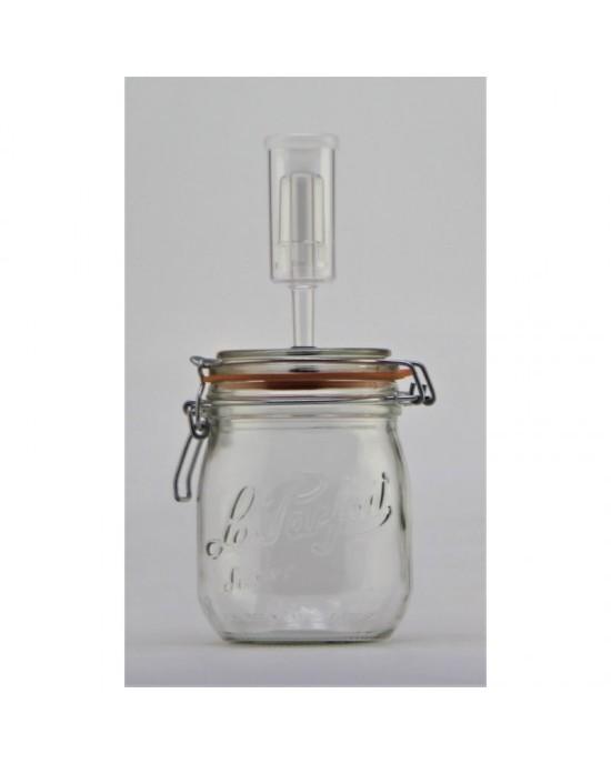 750ml Le Parfait Fermenting Jar With Fermenting Lid (750ml Fermenting jar)